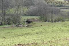 Cow bridge to Dunster Castle